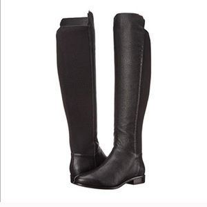 Cole Haan Dutchess Over The Knee Black Boot